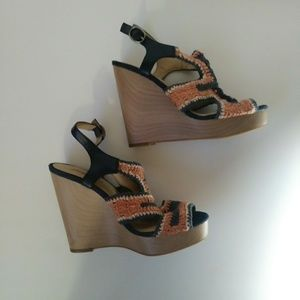 Lucky Brand wedges womens size 7.5